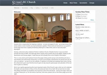 St Ann's homepage